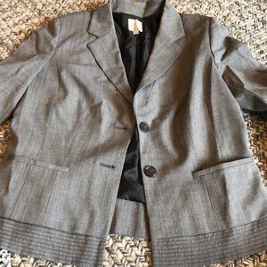 Halogen gray blazer. Size 14.